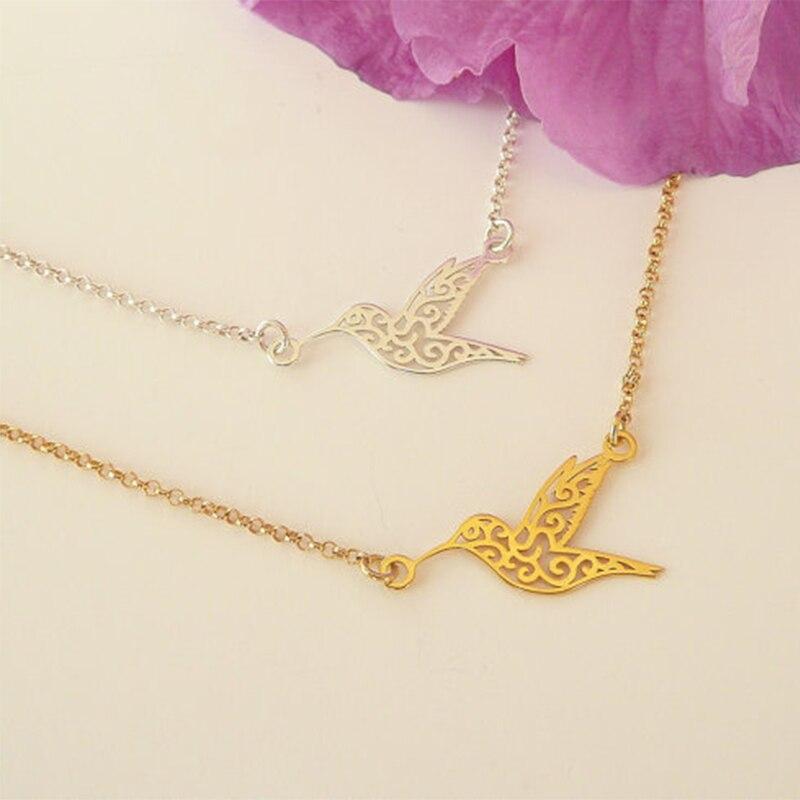 Yiustar Fashion Jewelry Hummingbird Couple Bracelet Peace Bird Bracelet Armbanden Voor Vrouwen Wedding Gift Women Fine Jewelry