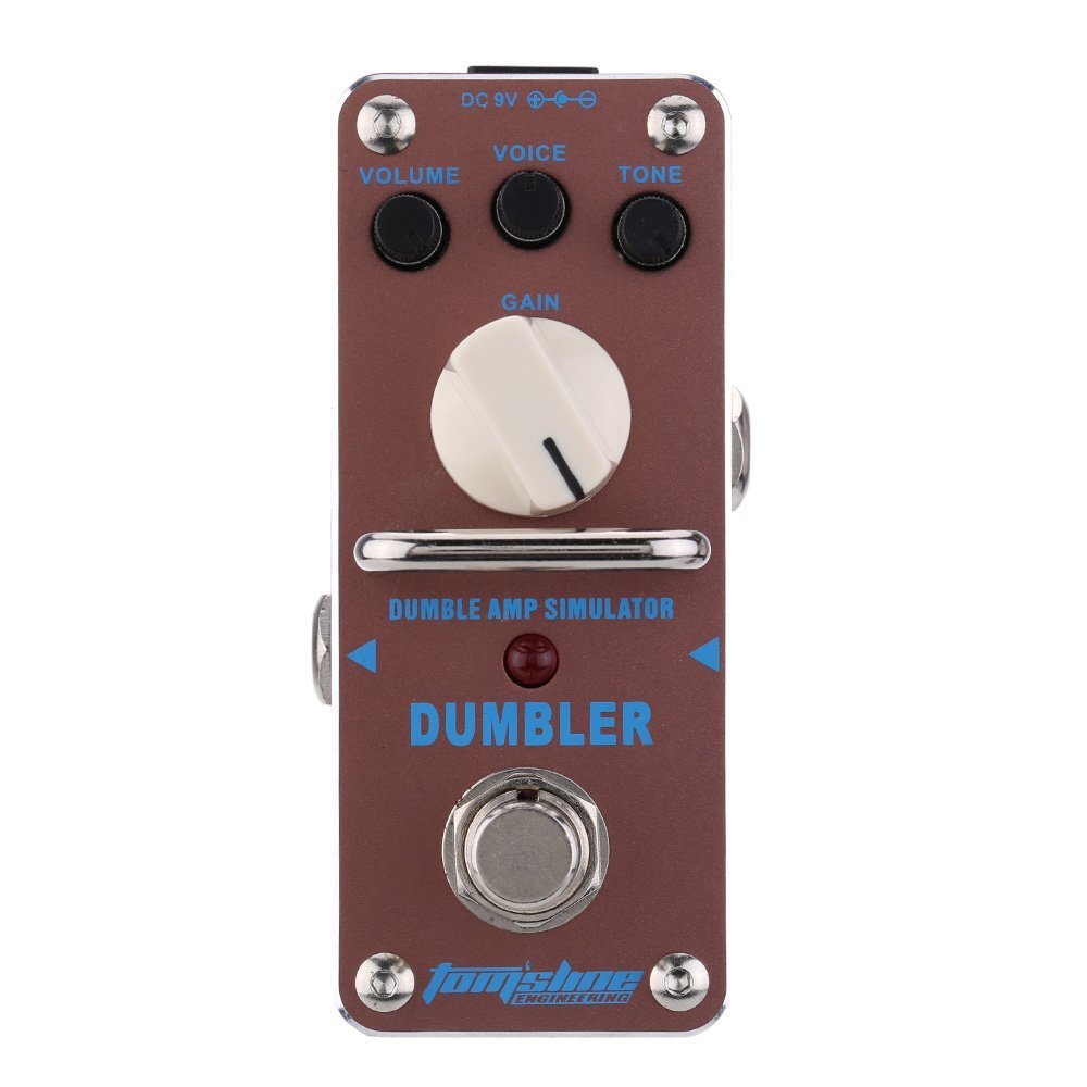 AROMA ADR-3 Guitar Effect Pedal Dumbler Amp Simulator Mini Single Electric Guitar Effect Pedal with True Bypass amo 3 mario bit crusher electric guitar effect pedal aroma mini digital pedals full metal shell with true bypass