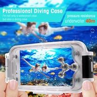 For IPhone 7 Waterproof Case 40m 130ft Underwater Case IPX8 Waterproof Diving Case For IPhone 7