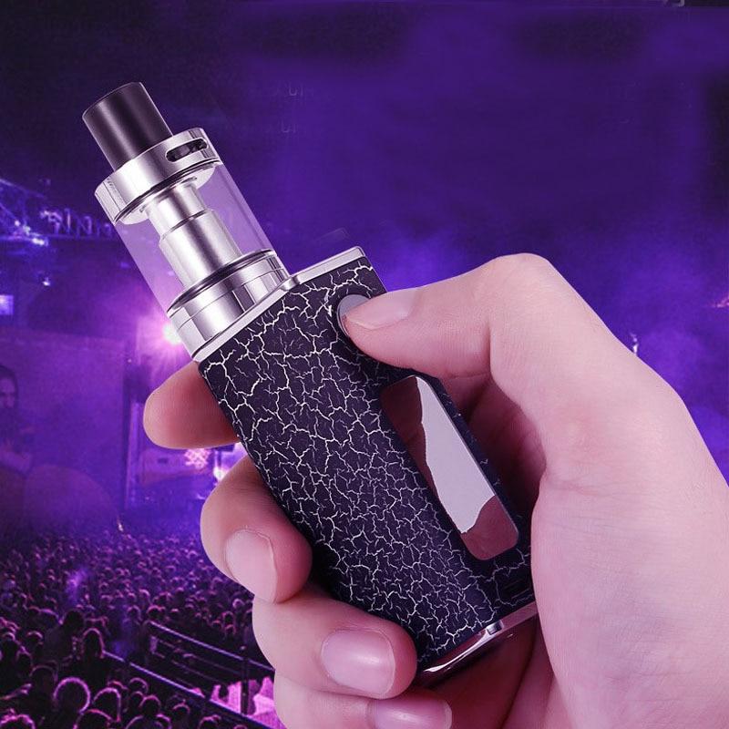 E-XY Electronic Cigarette Storm 80W box mod adjustable wattage vaper pen mods kit 1500mah LED light display electronic for Vape
