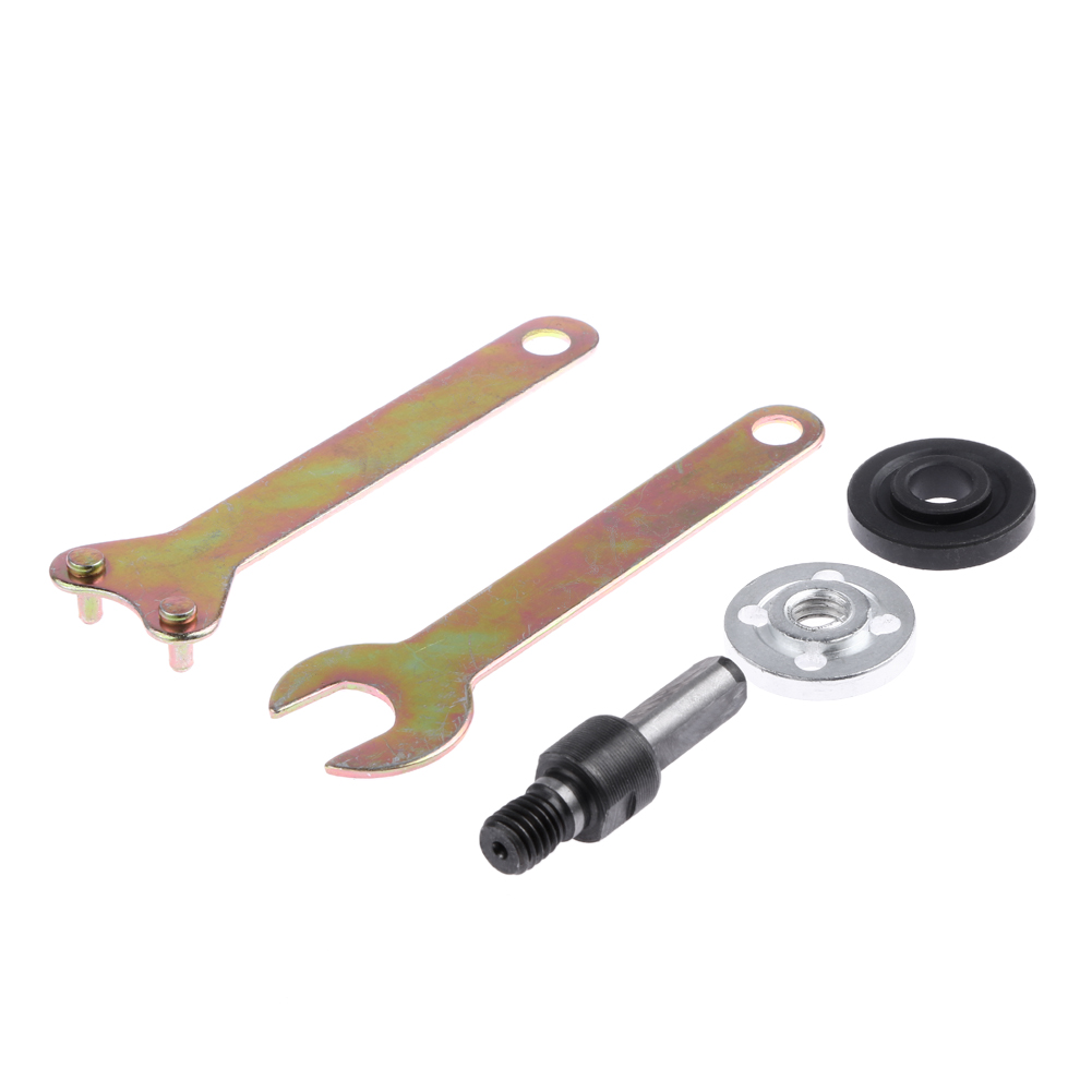 5Pcs/Set Electric Drill Variable Angle Grinder Connecting Rod Converter Set Drill Conversion Angle Wood Metal Grinding Tool 2tr bearing torque specs eagle h balancing bushing length angle assemble parts aligment tool innova connecting rod manufacturers