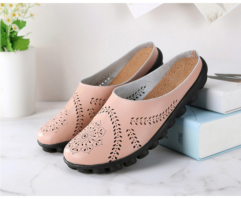 XY 991 Cut Outs Women's Summer Flats Shoes -6