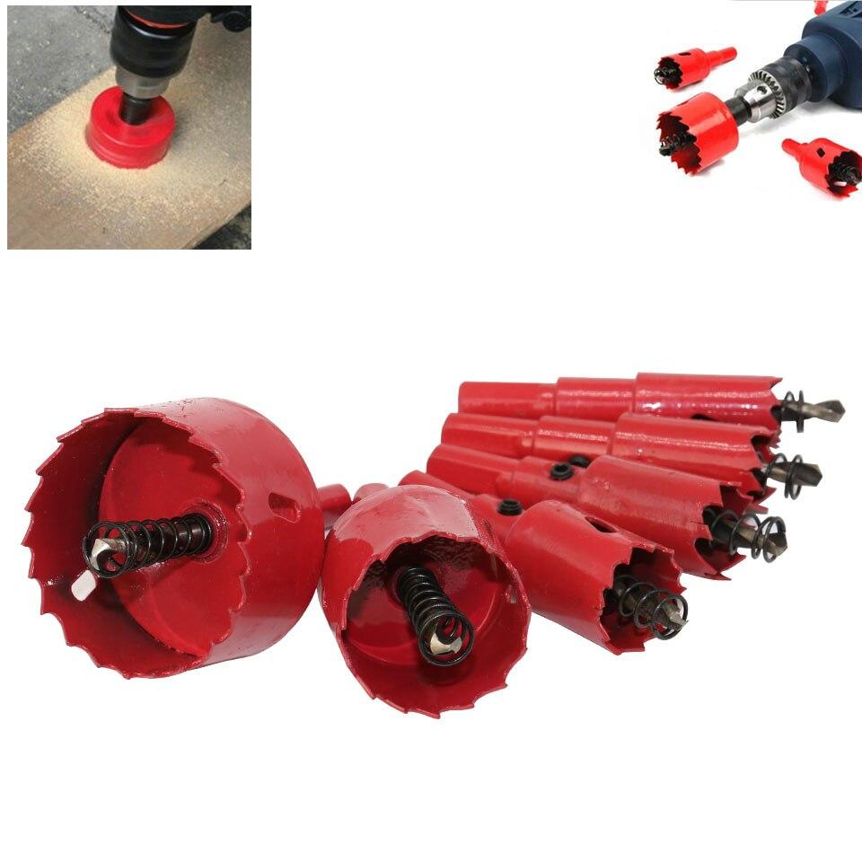 1Pc 16mm-200mm Drill Bit Hole Saw Twist Drill Bits Cutter Power Tool Metal Holes Drilling Kit Carpentry Tools For Wood Steel