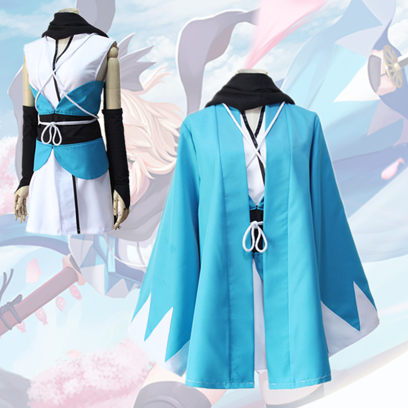 Japanese Anima Okita Souji Cosplay Fate Grand Sakura Saber Japanese Anime Fate Stay Night Comic Cosplay Halloween Party