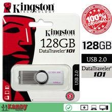 Kingston DT101G2 USB 2.0 flash pen drive 16GB 64GB 128GB key chain Mac cle usb stick the flash bellek personalizado memoria usb