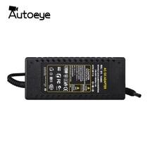 Autoeye fonte de alimentação dc 48v 3a, adaptador carregador para cctv poe câmera
