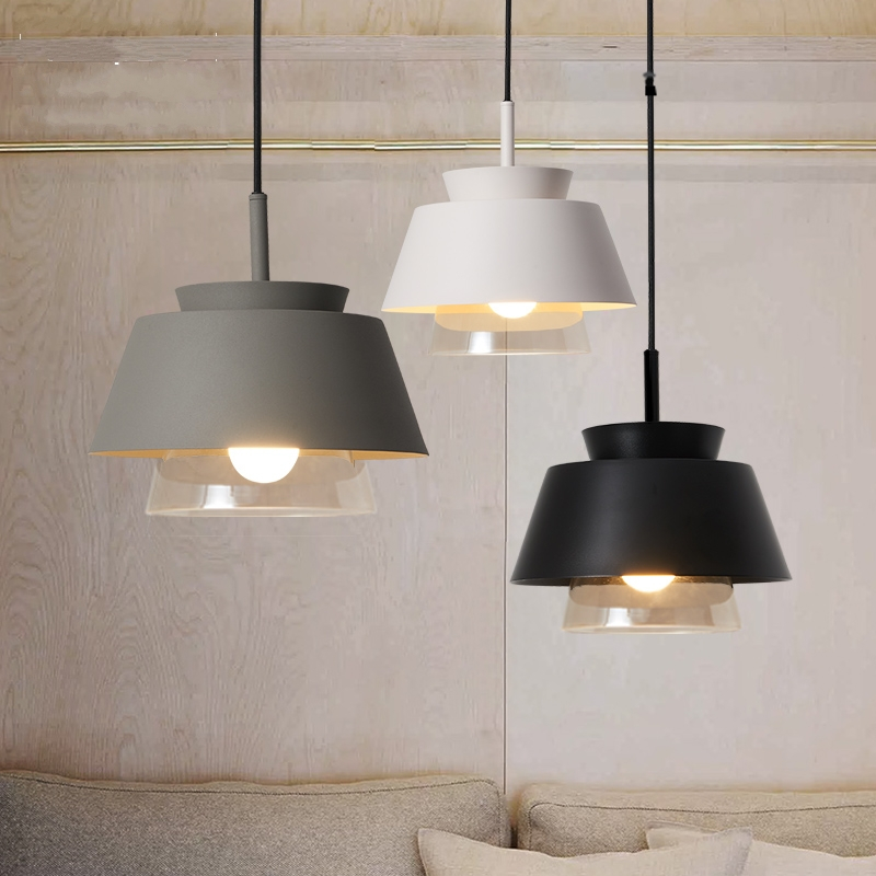 Nordic Creative Glass Pendant Light Modern Simple Hanging Lights Aisle Restaurant Cafe Bar Art Iron Decor Led Dining Room LightsNordic Creative Glass Pendant Light Modern Simple Hanging Lights Aisle Restaurant Cafe Bar Art Iron Decor Led Dining Room Lights
