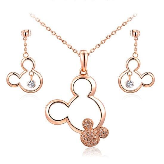 DEELAN Jewelry Sets Mickey...