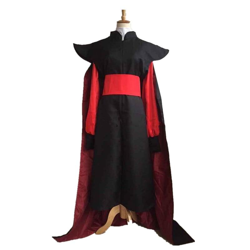 Volwassen herenlamp van Aladdin Jafar schurk Kostuum Outfit Aladdin - Carnavalskostuums - Foto 3