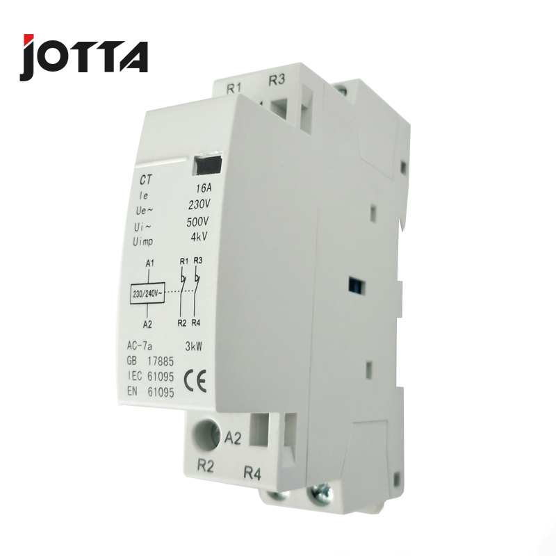 Super quality excellent 2P 16A 220V/230V 50/60HZ din rail household ...
