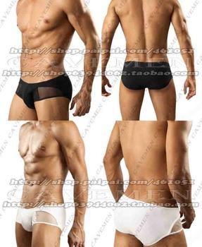 Perspectiva y no perspectiva que combina el diseño * 3288 * Lencería de hombre t-back Tanga G-String T pantalones ropa interior breve envío Gratis