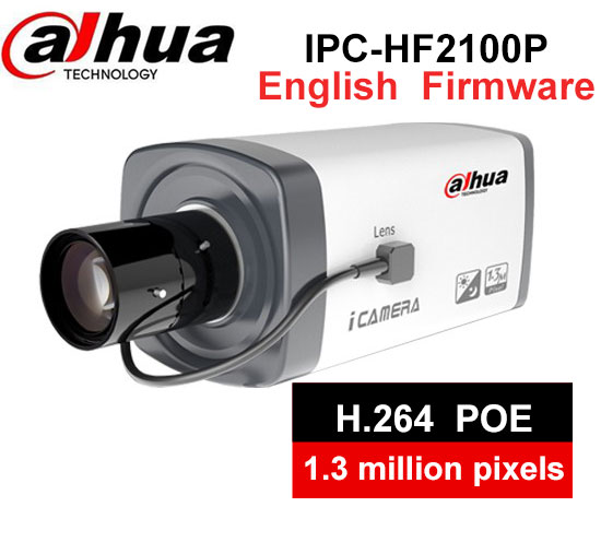 Dahua IP cameras DH-IPC-HF2100P 130 million online HD network camera with lens LM30G 2.7-9mm Manual zoom lens hd 2mp 9mm 22mm zoom manual focal cs lens for hd ip sdi ahd cameras