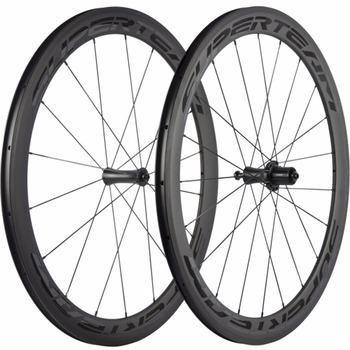SUPERTEAM 700C 50mm Clincher rower węgla rower szosowy koła węgla rowerowe bazaltu powierzchnia błyszcząca naklejka tanie i dobre opinie Matte CARBON Rowery drogowe V hamulca 20-24H Carbon Fibre-Toray T700 1558+ -20g 544mm 7 5mm 4 5mm 6 5mm 0 2mm 0 5mm