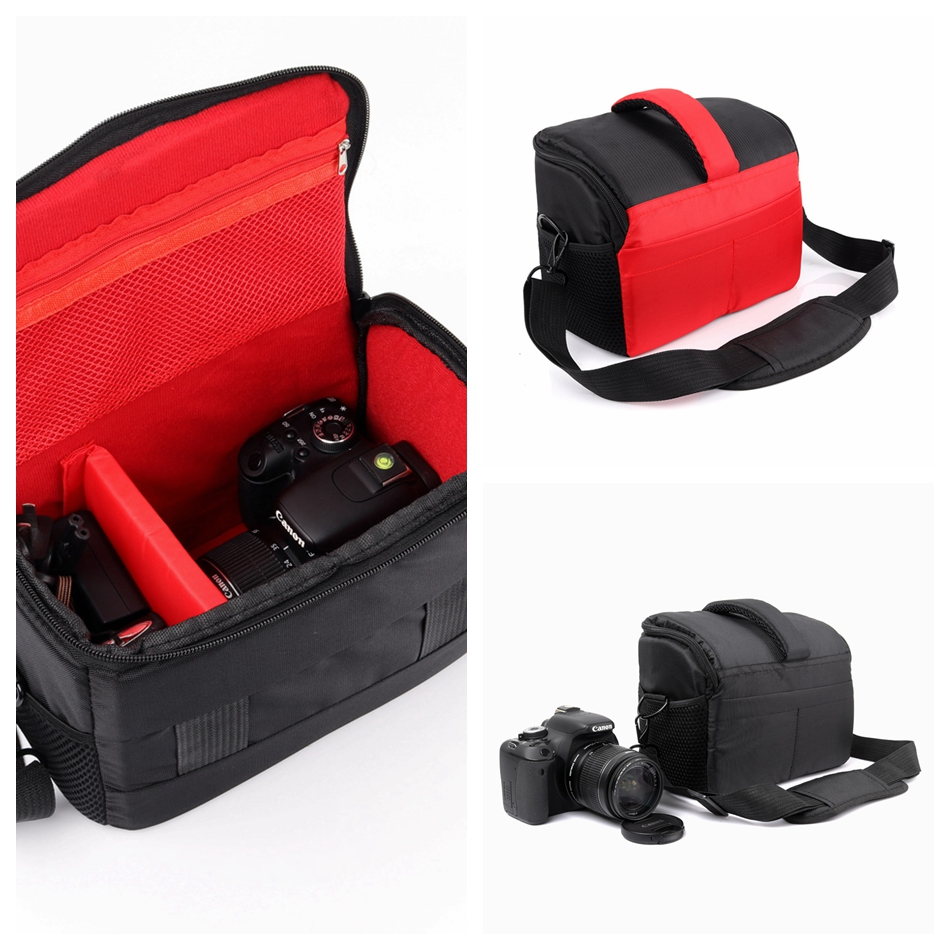 Camera Case Bag For <font><b>Sony</b></font> Alpha A33 A35 A37 A55 A56 A57 A58 A65 A68 A77 A99 II <font><b>A230</b></font> RX10 RX10M III II 3 2 A9 A7 A7RS2 A7S A7R image