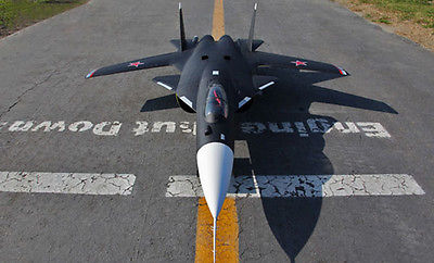 Scale Skyflight Twin 70MM EDF 1.5M SU47 Berkut RC RTF Jet Plane Model W/ Motor Servos ESC Battery