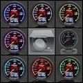 Гре ** y Калибр Turbo Boost Gauge 7 Светлые Цвета ЖК-Дисплей С Вольтметр Автомобилей Калибр 62 мм 2.5 Дюймов С Датчиком Greddi Метр