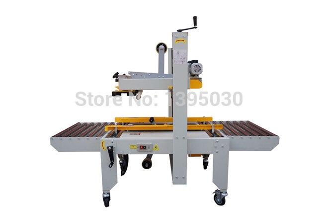 Tape Sealing Machine Carton Sealer Semi-Auto Carton Sealing PackingMachine FXJ-6050 220V 180W With English Manual цены