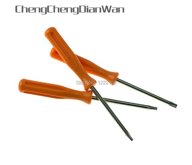 Chengchengdianwanワイヤレスコントローラスリム解体t6 t8 t10ドライバーdiyツールトルクスドライバ用ps3 xbox360 xboxone 50ピース