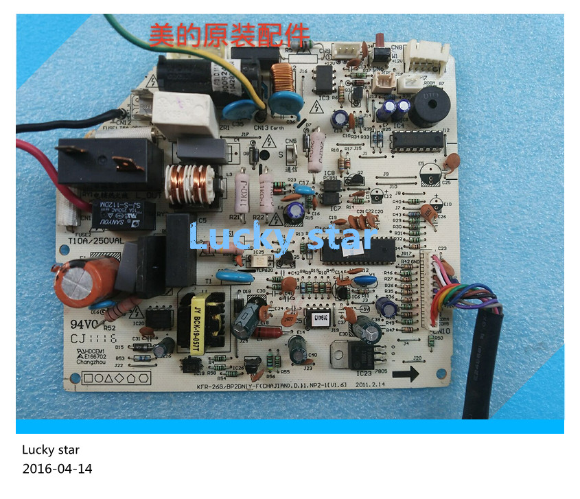 95% new for Air conditioning computer board circuit board KFR-26/32/35G/BP2DN1Y-F good working 95% new used for air conditioning computer board circuit board 6871a20298j g 6870a90107a key board good working