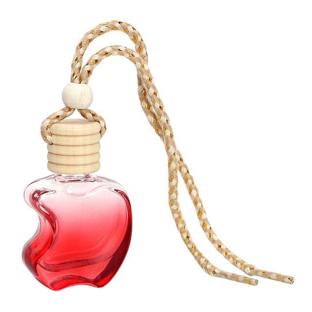 Kristal Glas Parfum Hanger Auto Styling Auto Ornament Kleurrijke