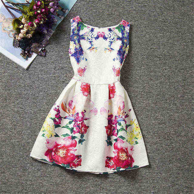 Girls Dresses brand Children 6 7 8 9 10 11 12 years baby Kids Clothes Fashion Girl clothing dress Summer style costume XD37-O