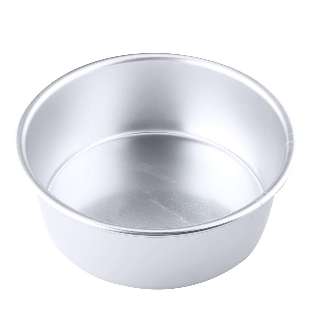 5 Quot Inch Aluminum Non Stick Round Cake Mould Pan Tin Tray