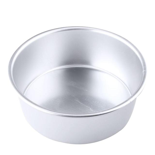 5 inch aluminum non stick round cake mould pan tin tray bakeware tool on. Black Bedroom Furniture Sets. Home Design Ideas