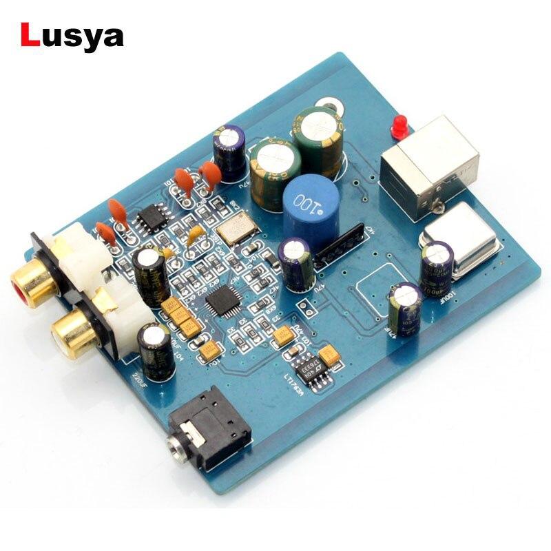 HIFI ES9018K2M SA9023 USB DAC Decoder Board External Card Support 24Bit 92k For Audio Amplifier A10-018