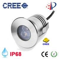 12V IP68 Waterproof LED Underwater Swimming Pool Light Stainless Steel For Lake Yard Pond Fountain Lighting