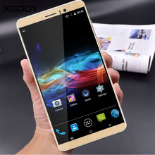 XGODY 6 Inch Phone RAM 1GB ROM 8GB Quad Core Smartphone Android 5.1 2SIM T-Mobile With 5.0MP Camera Cell Phone