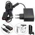 Черный AC 100 В-240 В Питания ЕС Plug Адаптер USB Зарядное Устройство Для Microsoft Для Xbox 360 Kinect датчик