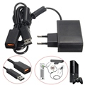 Black AC 100V-240V Power Supply EU Plug Adapter USB Charging Charger For Microsoft For Xbox 360 Kinect Sensor