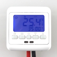 Hot sale New Digital Floor Heating Thermostat Room Warm Temperature Controller Weekly Programmable Blue LCD Display
