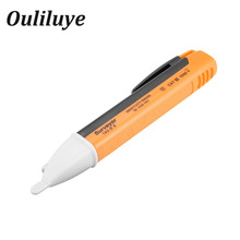 Socket Wall AC Power Outlet Voltage Sensor Tester Pen Non-contact Voltmete Electric Indicator Voltage Detector Sensor Tester Pen socket wall ac power outlet voltage detector sensor tester electric test pen led light voltage indicator 90 1000v drop ship