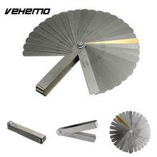 Vehemo Stainless-Steel Filler Gauge Feeler SAE Measuring Tool Dual Marked for Precision Gap Metric Rulers for Stainless Steel(China)