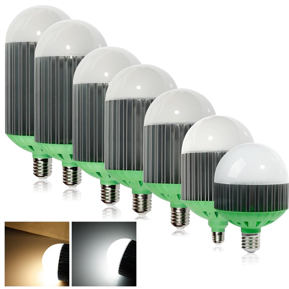ФОТО E27 E40 40W 50W 60W 70W 80W 90W 110W AC85~265V High Power Industry LED Light Bulb Lamp