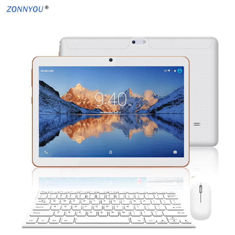 10.1 Inch Tablet PC New System 4G 3G Phone Call Android 8.0 4GB/64GB Octa Core Dual SIM Support GPS Wi-Fi PC Luxury Package