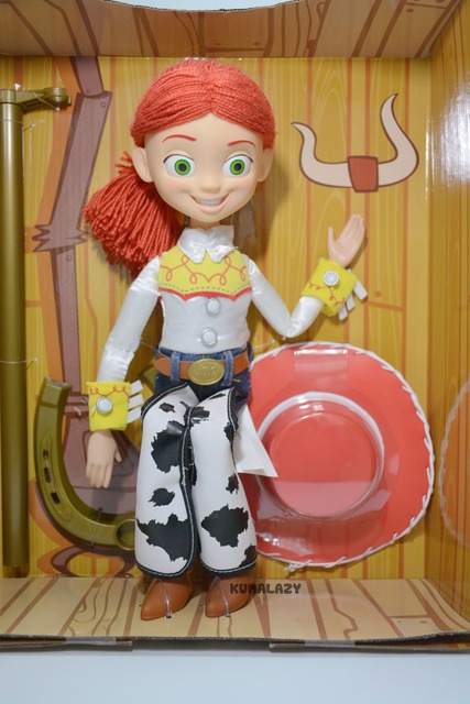9c882d5bc4 Toy Story Jessie The Yodeling Cowgirl Talking Doll with Yarn Hair 30cm PVC  Action Figure Collectible