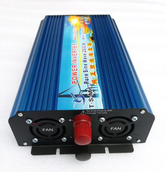 Pure Sine Wave Solar Inverter with Advanced Double-CPU Single-Chip Intellectual Control Technology