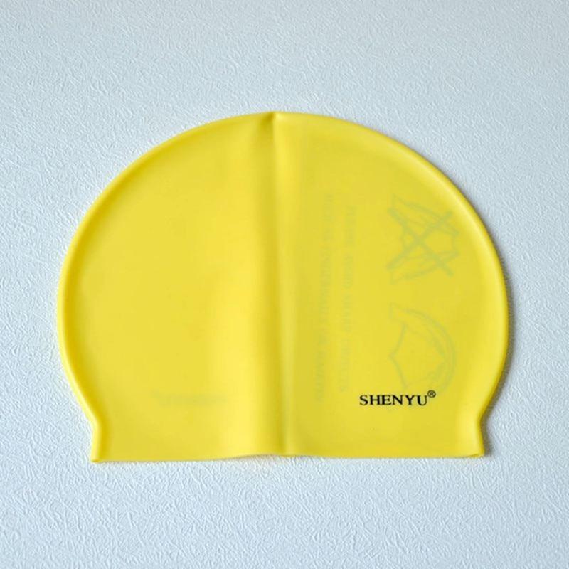 Profesional Flexible Impermeable de silicona Gorro de natación - Ropa deportiva y accesorios - foto 5