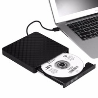USB 3.0 Laptop DVD Burner DVD ROM Player External Optical Drive CD/DVD RW Writer Recorder Portable Desktop PC Drives