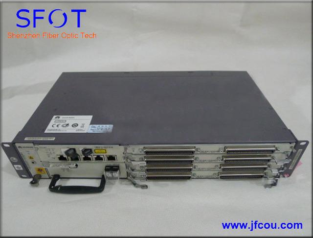 Original Línea de Abonado Digital Multiplexor de Acceso IP DSLAM 5616 chasis con alimentación de CC de 4 tableros de juego completo