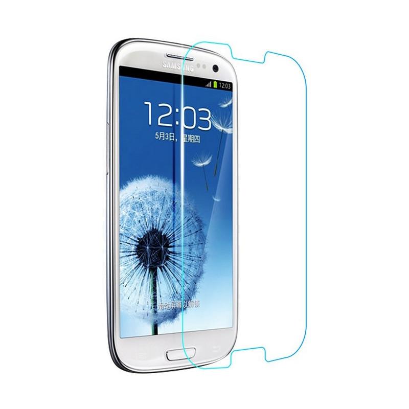 0.27 მმ HD მინა შუშის Samsung Galaxy S3 Neo i9301 SIII I9300 Duos i9300i ეკრანის დამცავი გამკაცრდა დამცავი ფილმის დაცვა