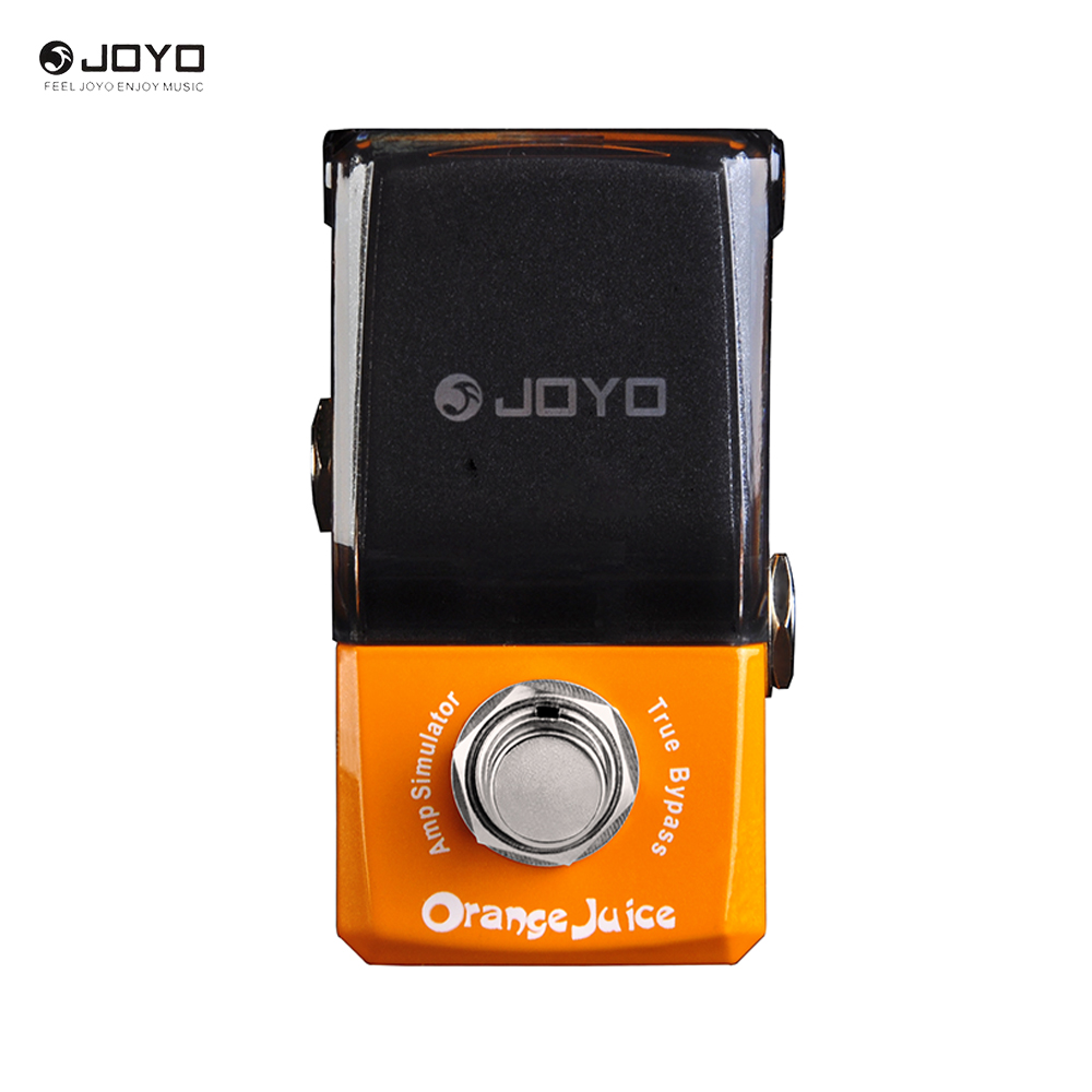 JOYO JF-310 Orange Distortion Pedal New Ironman Series Mini Effect Pedal Guitar Accessory