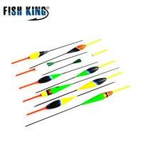 FISH KING Master Series Floats 10pcs Lot 2g 17 5cm 3g 18cm 4g 21 5cm Fishing