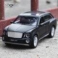 Вытяните назад модели автомобилей Bentley ВНЕДОРОЖНИК Класса Люкс Модель автомобиля 1:32 звук и свет игрушка автомобиль Моделирование автомобилей модели автомобилей де coleccion
