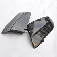 OLOTDI For BMW F10 F11 2014 2017 Carbon Fiber Rearview Door Side Wing Mirror Cover Cpas