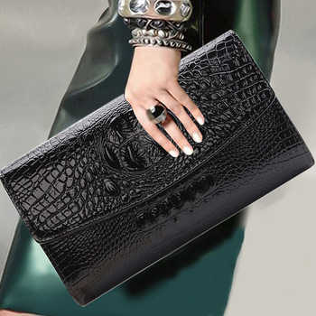 2018 Gold Chain Clutch Bag For Lady Women's Handbag Fashion Envelope Bag Party Evening Clutch Bags Black Purse Day Clutch - DISCOUNT ITEM  38% OFF All Category
