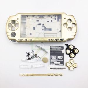 Image 4 - E ハウス用psp 2000 psp2000ゲームコンソールフルセットシェルハウジングケースカバー付きボタンキット交換