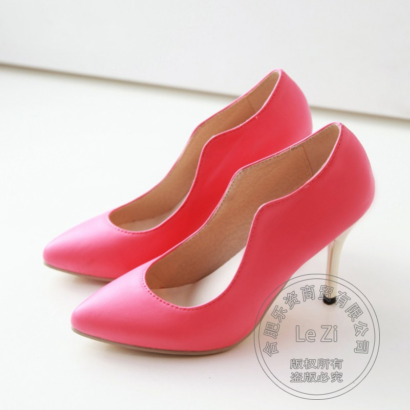 2015 Spring Autumn Kitten Womens Stilletos Shoes For font b Women b font Heels High Fashion